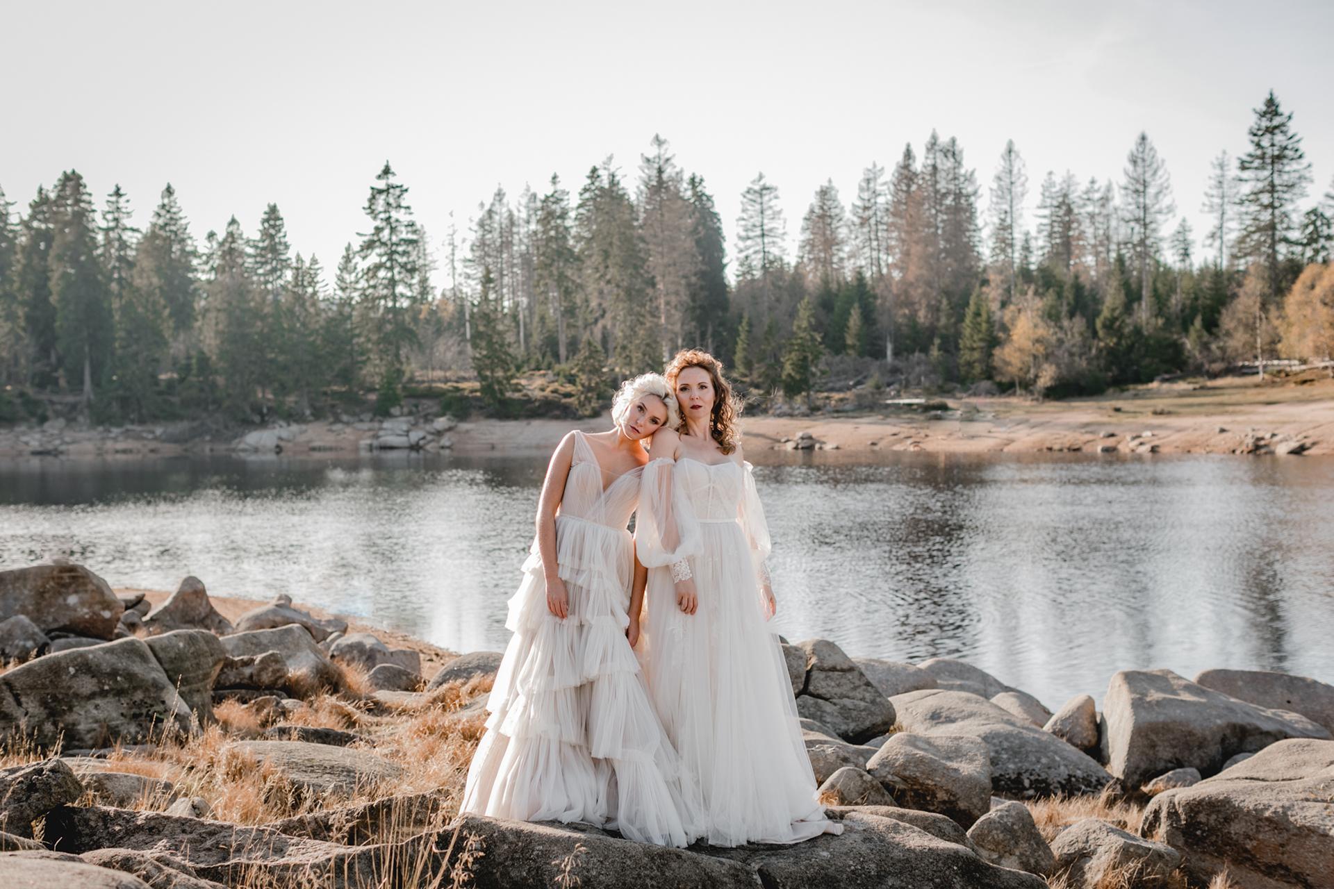 Verspielte vintage Brautkleider - Feelings Braut & Festmoden