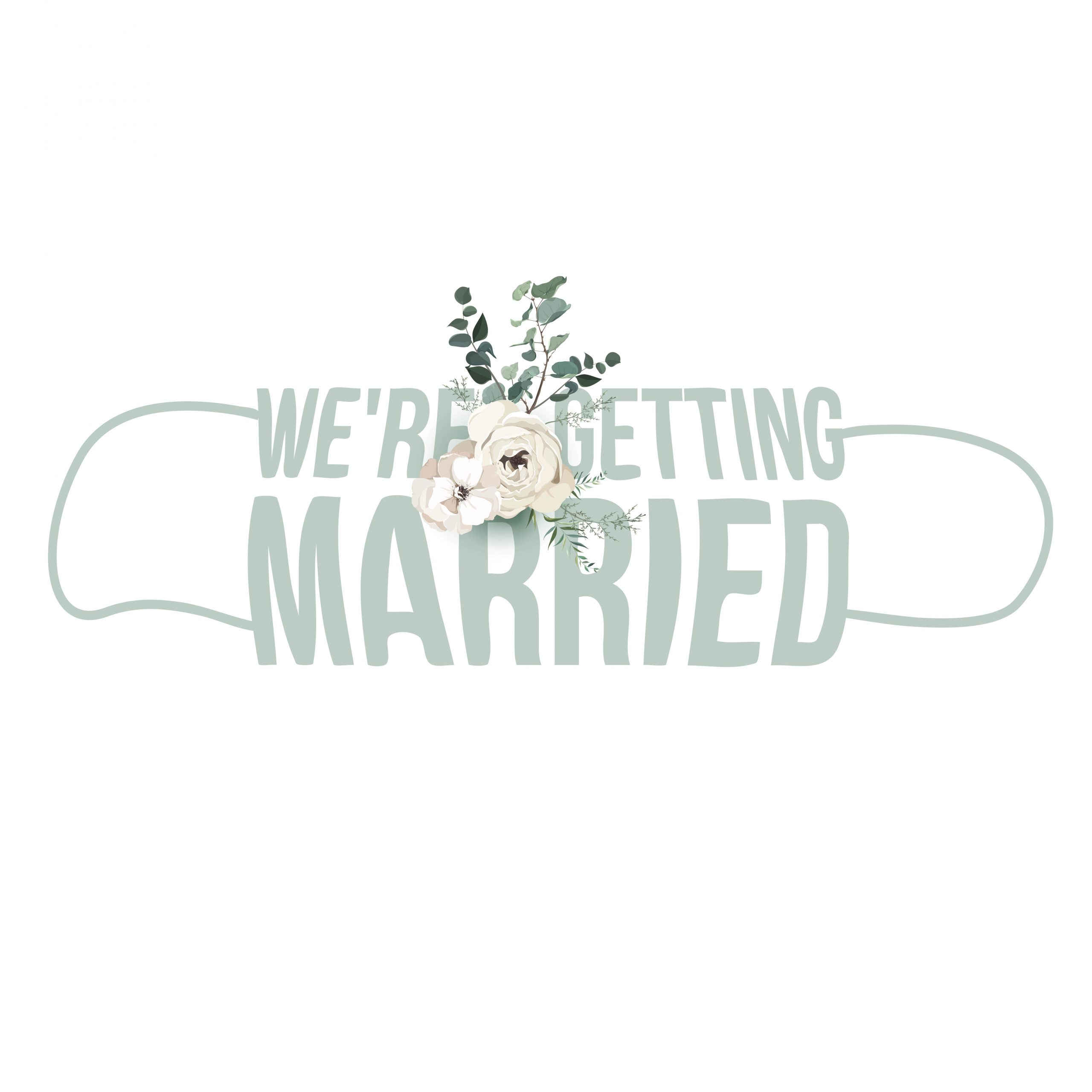 We are getting married (Mund-Nasenschutz-Maske Design) - Blogeintrag - Feelings Braut & Festmoden